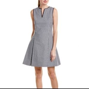 Brooks Brother Gingham fit and flare dress
